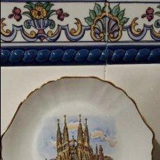 Antigüedades: BANDEJA DECORACION DE BARCELONA.. Lote 118756207