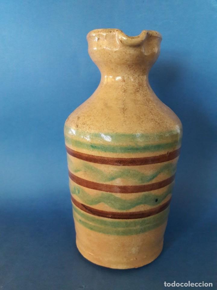 Antigüedades: Jarra de cerámica alcuza de Lucena (Córdoba) - Foto 2 - 118779055