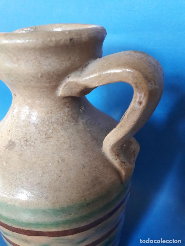 Antigüedades: Jarra de cerámica alcuza de Lucena (Córdoba) - Foto 4 - 118779055