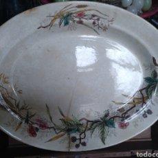 Antigüedades: FUENTE PLATO PICKMAN SEVILLA CHINA OPACA. Lote 118788792