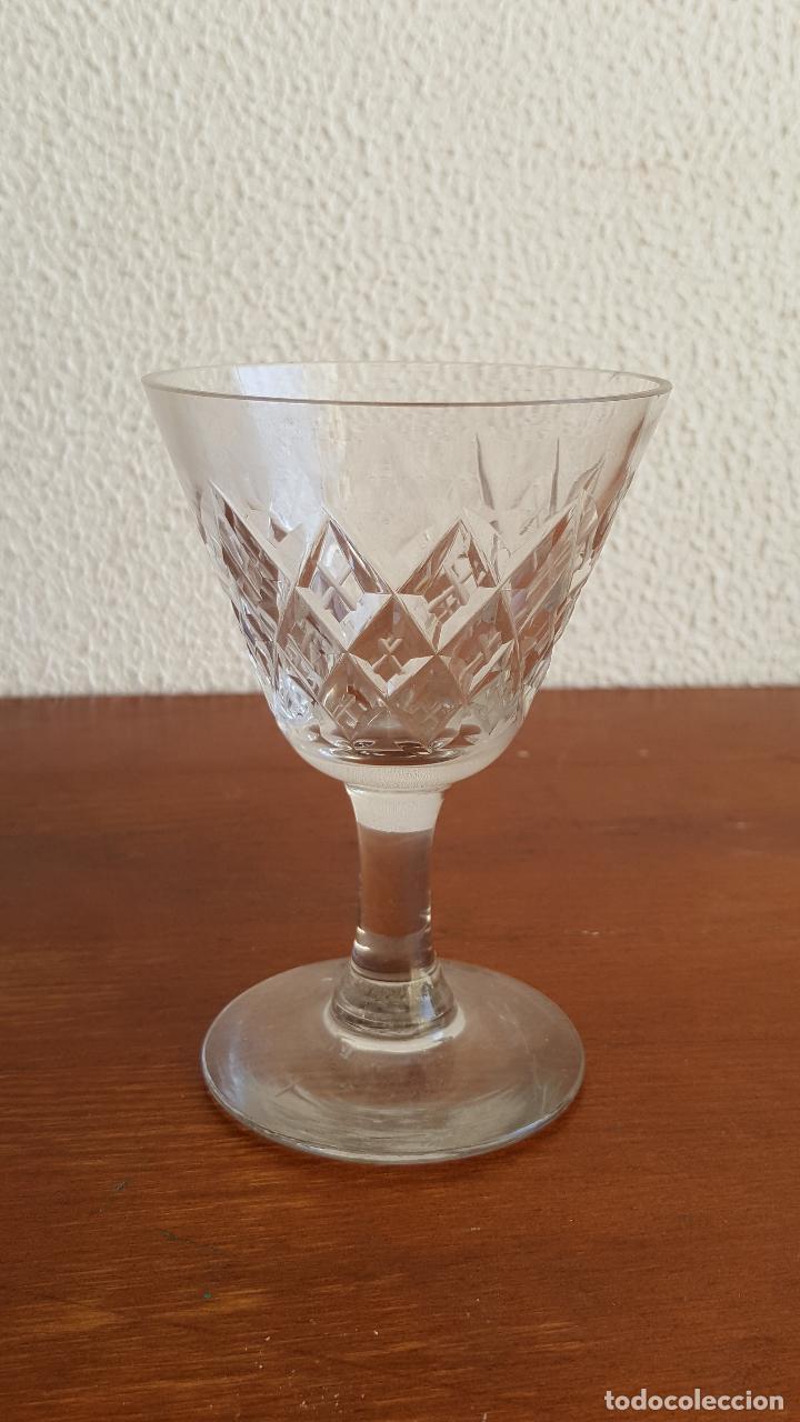 Antigüedades: Preciosa copa de cristal para colección. - Foto 2 - 118795659