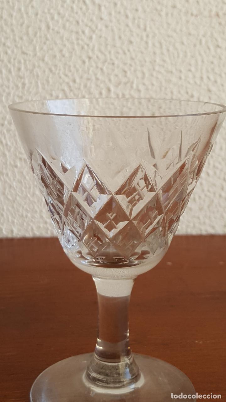 Antigüedades: Preciosa copa de cristal para colección. - Foto 3 - 118795659