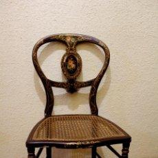 Antigüedades: SILLA MADERA . Lote 118805951
