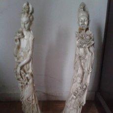 Antigüedades: PAREJA JAPONESES. Lote 118805983