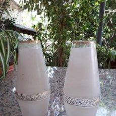 Antigüedades: ANTIGUO JUEGO DE 2 TULIPAS. Lote 118837595