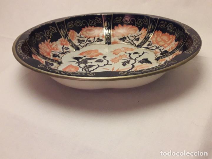 Antigüedades: Frutero de metal motivos florales Daher Decoration Ware England - Foto 3 - 118841403