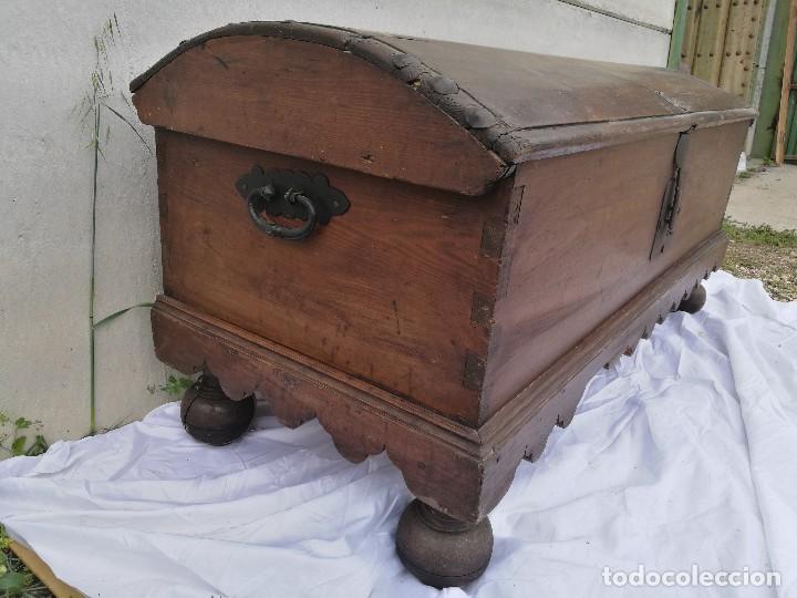 Antigüedades: ARCA-ARCÓN-BAÚL ANTIGUO - Foto 3 - 118852463