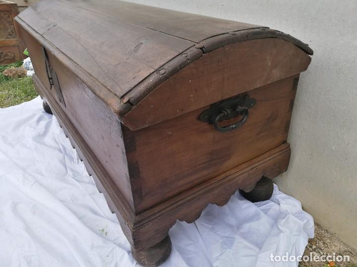 Antigüedades: ARCA-ARCÓN-BAÚL ANTIGUO - Foto 4 - 118852463