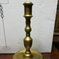 Antigüedades: CANDELABRO DE BRONCE. Lote 118869063