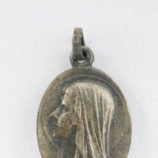 Antigüedades: ANTIGUA MEDALLA RELIGIOSA - VIRGEN DE LOURDES - PRINCIPIOS DEL S. XX. Lote 118876915