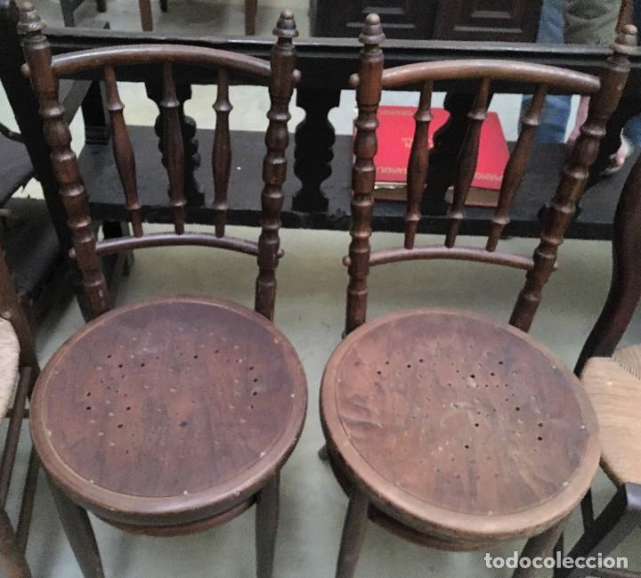 Antigüedades: JUEGO DE SILLAS THONET - Foto 3 - 118878523