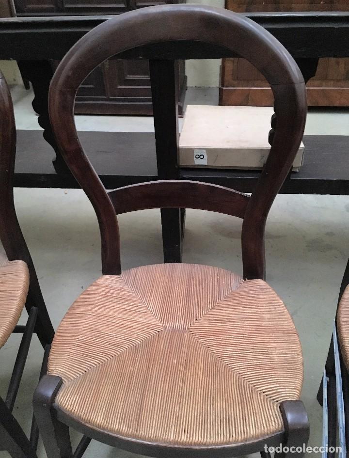 JUEGO DE 3 SILLAS (Antigüedades - Muebles Antiguos - Sillas Antiguas)