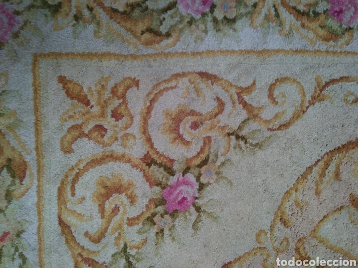 Antigüedades: Alfombra de lana tejida a mano 340 x 253 cm - Foto 4 - 118890266