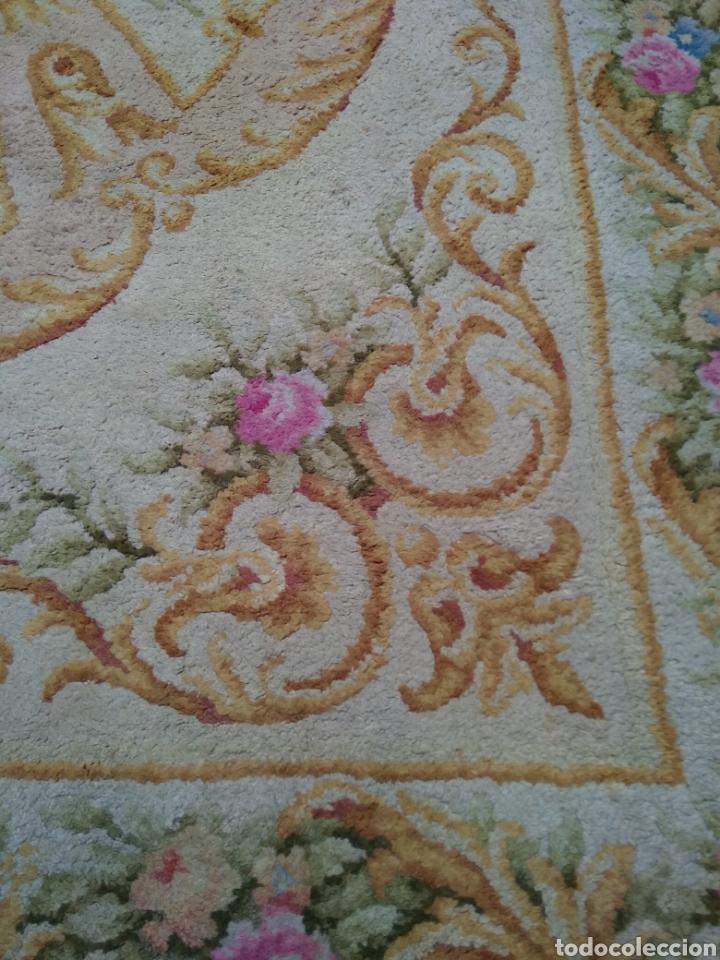 Antigüedades: Alfombra de lana tejida a mano 340 x 253 cm - Foto 5 - 118890266