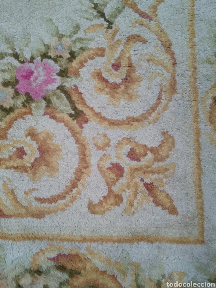 Antigüedades: Alfombra de lana tejida a mano 340 x 253 cm - Foto 8 - 118890266
