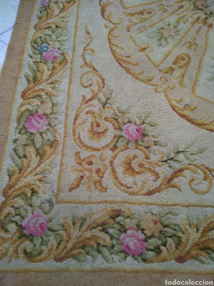 Antigüedades: Alfombra de lana tejida a mano 340 x 253 cm - Foto 9 - 118890266