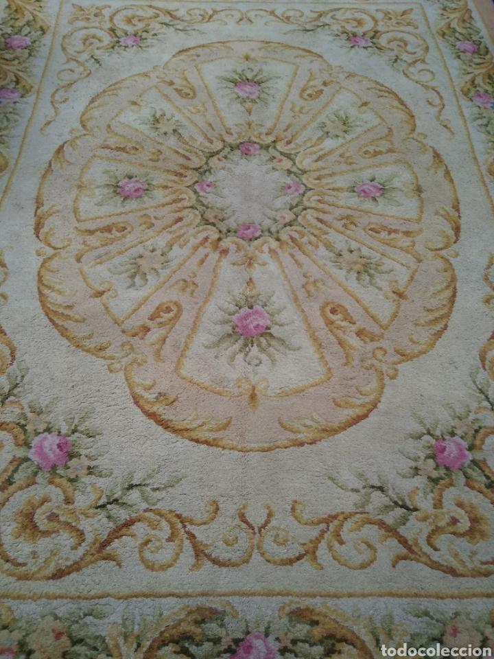 Antigüedades: Alfombra de lana tejida a mano 340 x 253 cm - Foto 10 - 118890266