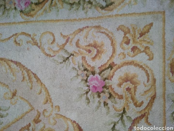 Antigüedades: Alfombra de lana tejida a mano 340 x 253 cm - Foto 12 - 118890266
