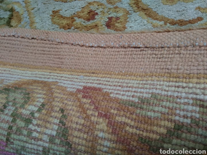 Antigüedades: Alfombra de lana tejida a mano 340 x 253 cm - Foto 13 - 118890266
