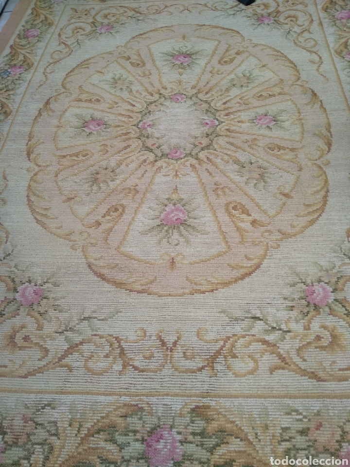 Antigüedades: Alfombra de lana tejida a mano 340 x 253 cm - Foto 15 - 118890266