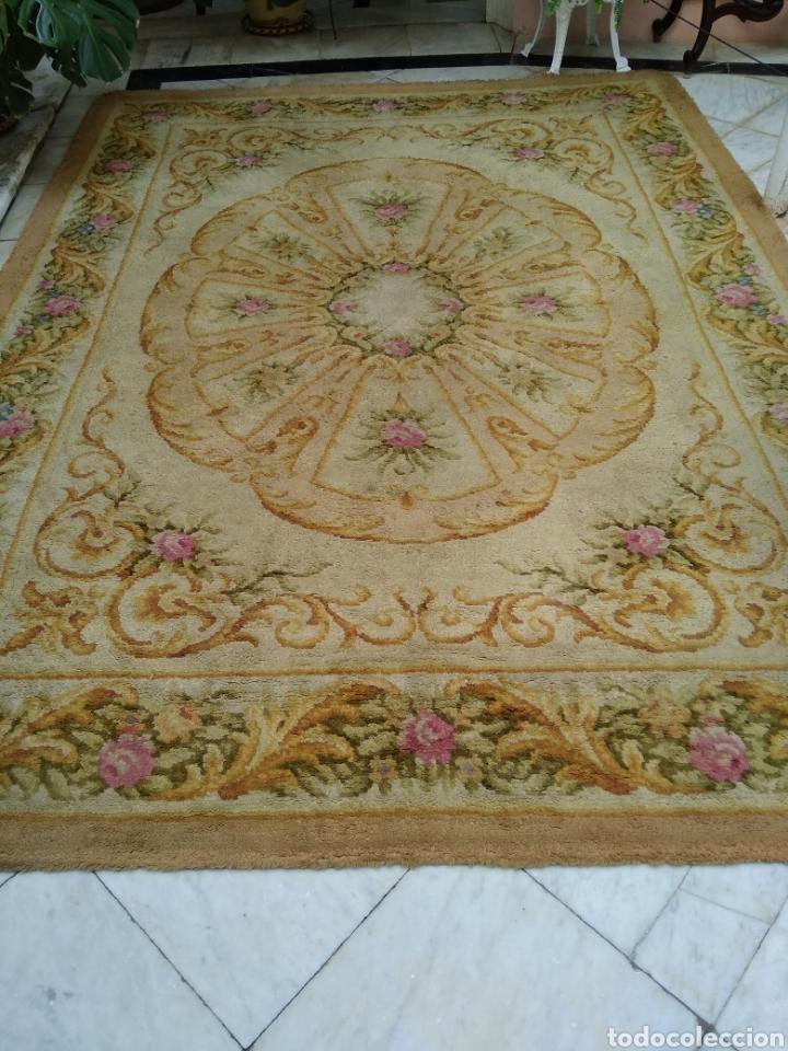Antigüedades: Alfombra de lana tejida a mano 340 x 253 cm - Foto 2 - 118890266