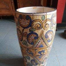Antigüedades: LARGUERO DE CERANICA. Lote 118890427