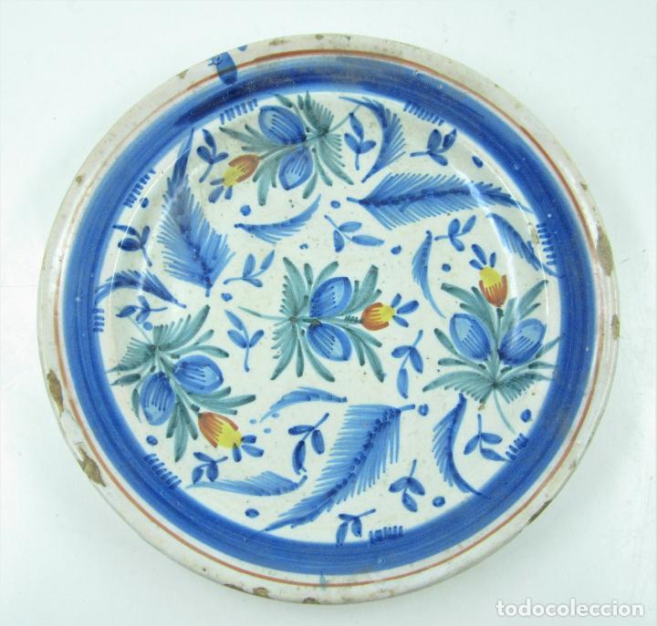 PLATO DE MANISES. 29 CM DIÁMETRO (Antigüedades - Porcelanas y Cerámicas - Manises)