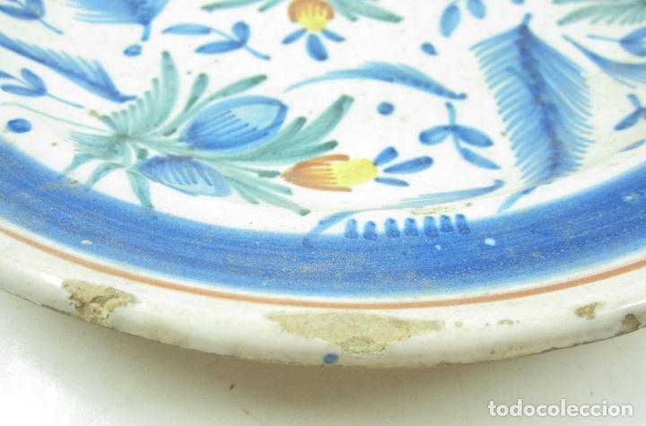 Antigüedades: Plato de manises. 29 cm diámetro - Foto 4 - 118890939
