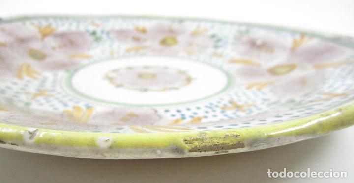 Antigüedades: Plato de manises. 29 cm diámetro - Foto 2 - 118891255