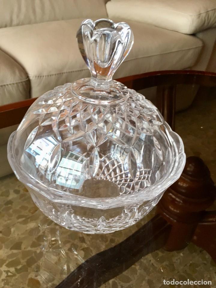 Antigüedades: Bombonera cristal de Bohemia - Foto 2 - 118897003