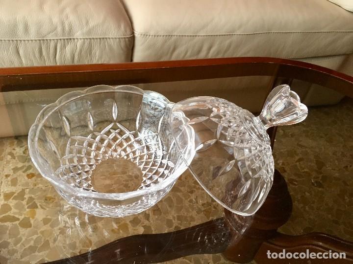 Antigüedades: Bombonera cristal de Bohemia - Foto 3 - 118897003
