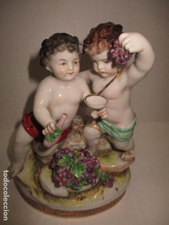 FIGURA DE PORCELANA. P. S. XX. (Antigüedades - Porcelanas y Cerámicas - Otras)