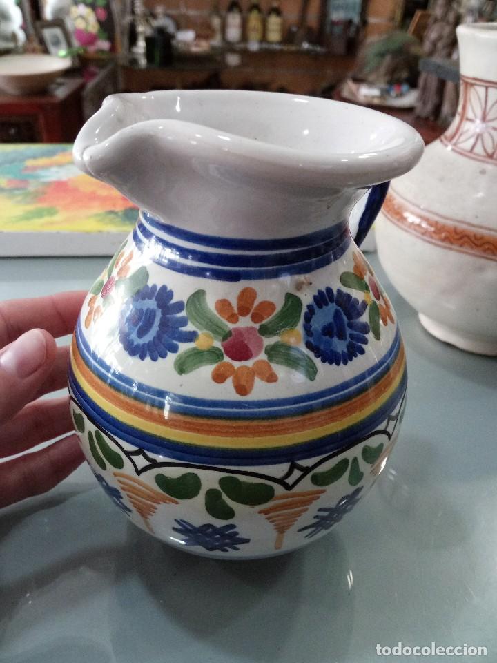 Antigüedades: Jarrita de Talavera ACR 125 - Foto 2 - 118916863