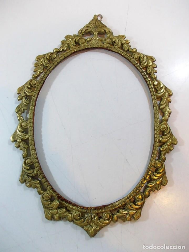 antiguo marco ovalado estilo camafeo en bronce - Comprar Marcos ...