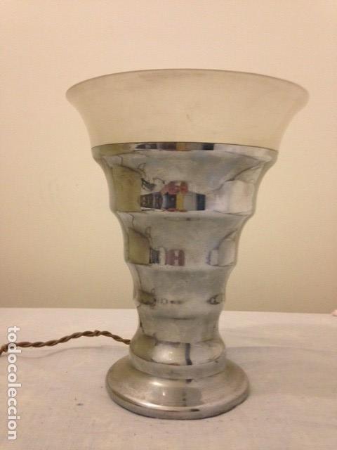 LAMPARA MESA ART DECO (Antigüedades - Iluminación - Lámparas Antiguas)