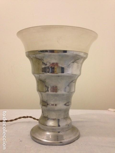 Antigüedades: Lampara mesa Art Deco - Foto 5 - 118262639