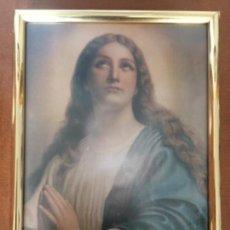 Antigüedades: CUADRO VIRGEN MARÍA. Lote 118949531