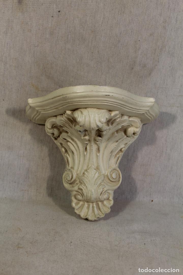 MENSULA DE YESO (Antigüedades - Muebles Antiguos - Ménsulas Antiguas)
