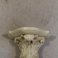 Antigüedades: MENSULA DE YESO. Lote 118963987
