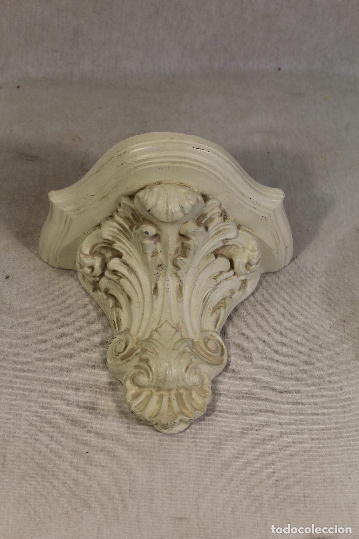 Antigüedades: mensula de yeso - Foto 2 - 118963987