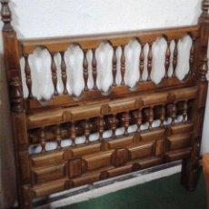 Antigüedades: CABECERO CASTELLANO MADERA. Lote 118983067