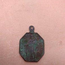 Antigüedades: ANTIGUA MEDALLA REGINA ROSARIO Y SANTO DOMINGO. Lote 119003143