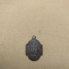 Antigüedades: ANTIGUA MEDALLA SAN JOSÉ Y SAGRADO CORAZÓN. Lote 119003671