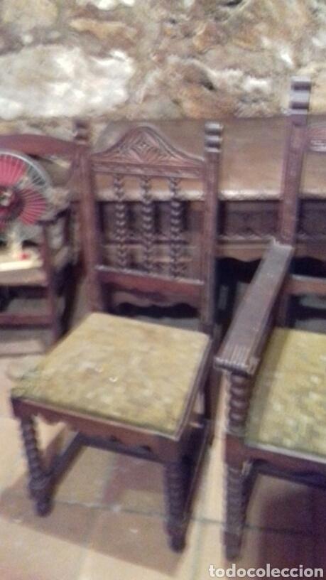 Antigüedades: mesa de despacho escritorio - Foto 5 - 91586009