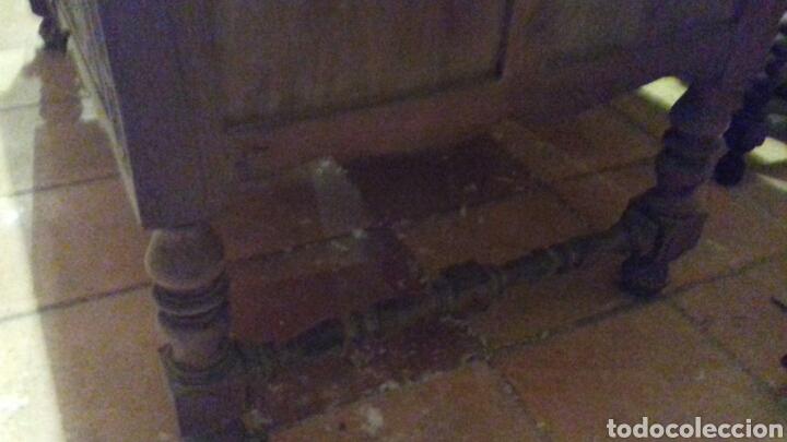 Antigüedades: mesa de despacho escritorio - Foto 7 - 91586009