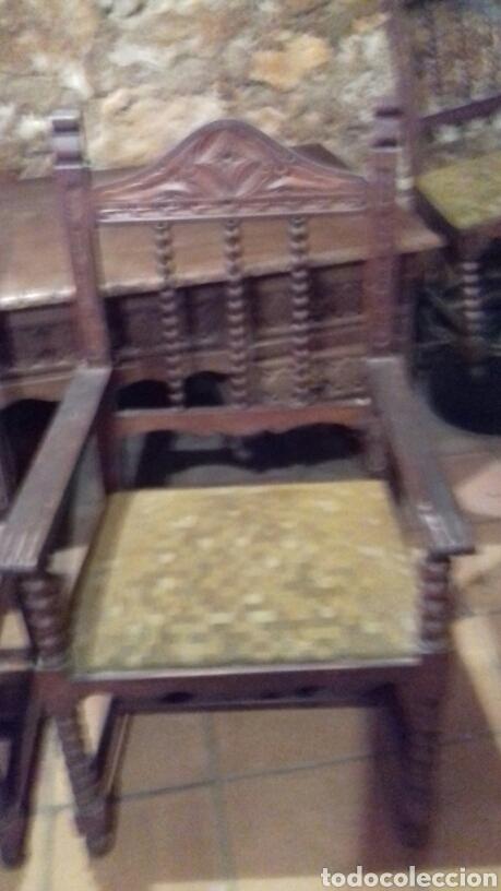 Antigüedades: mesa de despacho escritorio - Foto 8 - 91586009