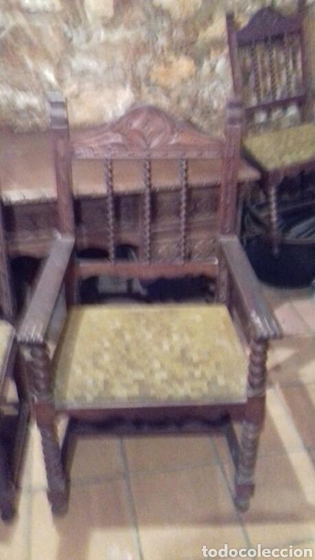 Antigüedades: mesa de despacho escritorio - Foto 9 - 91586009