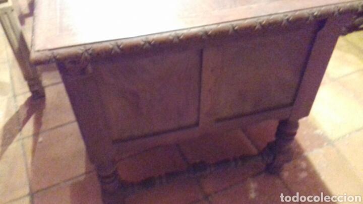 Antigüedades: mesa de despacho escritorio - Foto 12 - 91586009