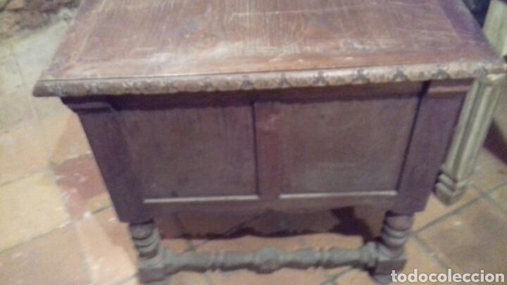 Antigüedades: mesa de despacho escritorio - Foto 13 - 91586009