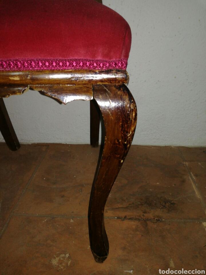Antigüedades: Antigua silla descalzadora - Foto 3 - 120425260